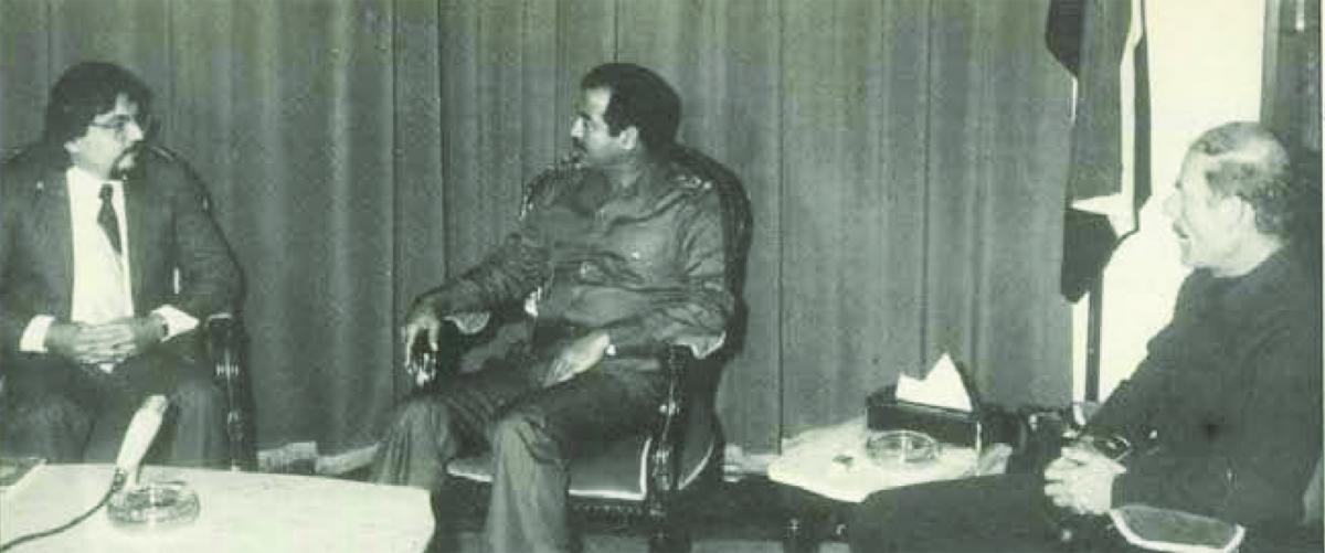 ليطلع العراقيون !صدام حسين قبل 35 عاما :ايران تريد انشاء امبراطورية فارسية